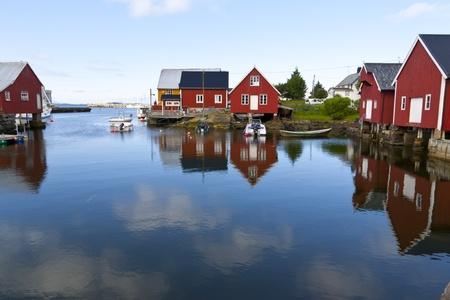 fishing village Bud, Norway photo