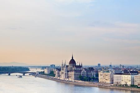 panorama of Budapest photo