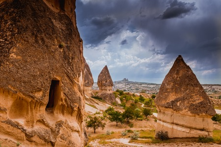 anatolia: Rock formations of Cappadocia in Central Anatolia, Turkey