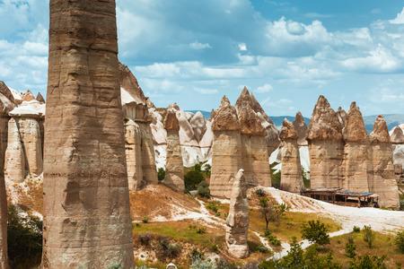 love valley Goreme Cappadocia Turkey in summertime Stock Photo