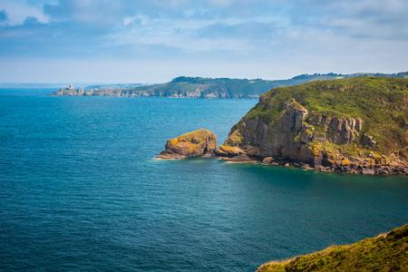 bretagne: coastal summer landscape of Bretagne, Brittany, France