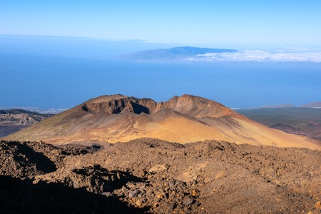 view to Pico Viejo volcano Teide National Park, Tenerife, Spain 写真素材
