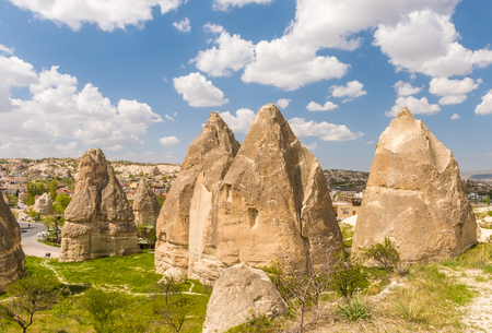Goreme National Park and the Rock Sites of Cappadocia, volcanic landscape