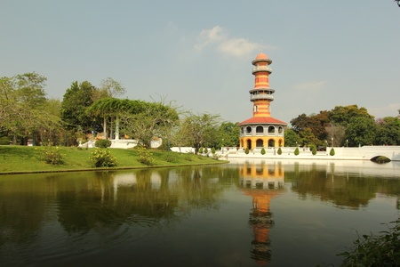 bang pa in: Some of the Palace Bang pa in of Ayutthaya. Editorial