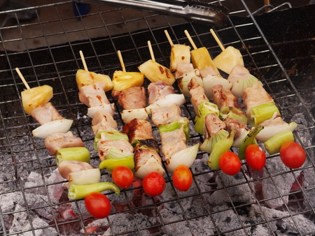 eating habits: BBQ was cooked taste to the eating habits of Thailand.