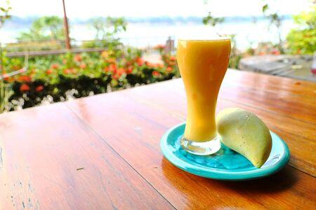 Mango juice is Thai traditional herbal juice.