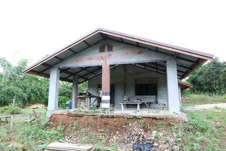 Former Ban Vinai evacuation center By the government, which accepts the Hmong Laotian refugees fleeing the war across Thailand Imagens - 132021142