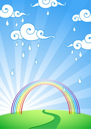 Rainbow Stock Vector - 6686790