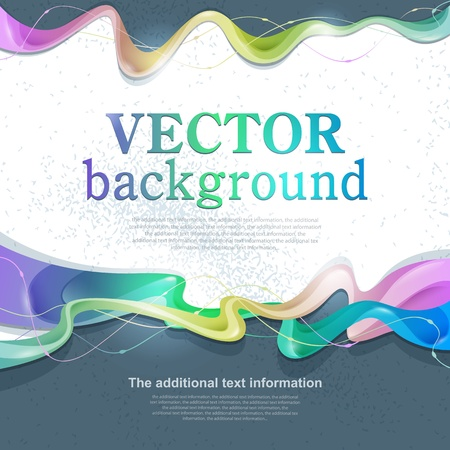 Vector abstract background for design with space for text Vettoriali