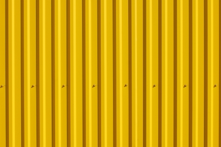 corrugated steel: Texture for the design  Decking yellow