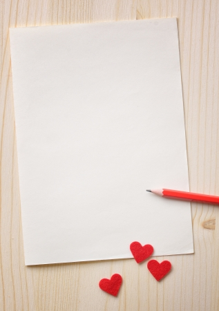 Valentines day background with red hearts Stock Photo - 17046003