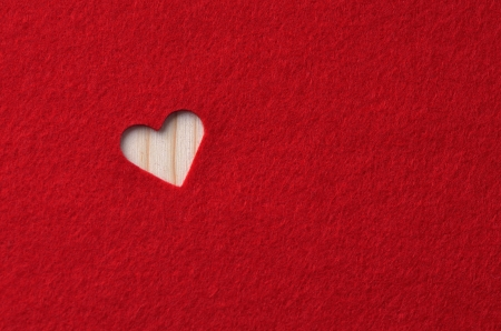 valentine background: Love notes  Background for design with red hearts and red pencil