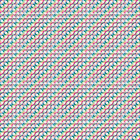 Seamless geometric pattern of colored diagonals. Abstract background for design Illustration