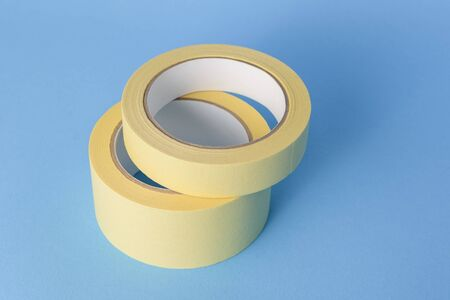 Painters tape (masking tape) for protect walls when painting