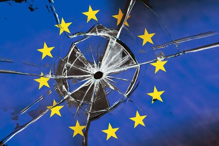 Collapse of the European Union. Disintegration of European countries. Concept