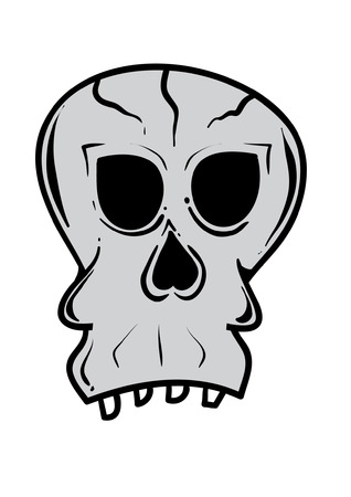 strret: A silly looking skull.