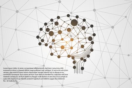 Concept de technologie de science résumé de la technologie de connexion numérique pour le modèle de jeu Banque d'images - 96283054