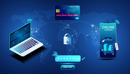 abstract Online payment With shopping on the phone By having a credit card connection And have a safety supervision system.