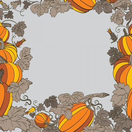 Pumpkin Background Stock Vector - 14676005