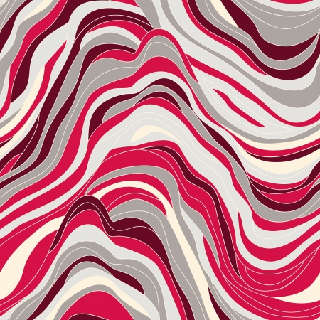 vector seamless texture with  waves Vector