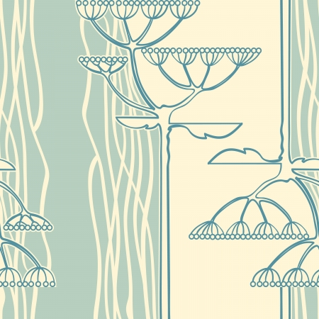 Vector background from flower branch Stock Vector - 15183634