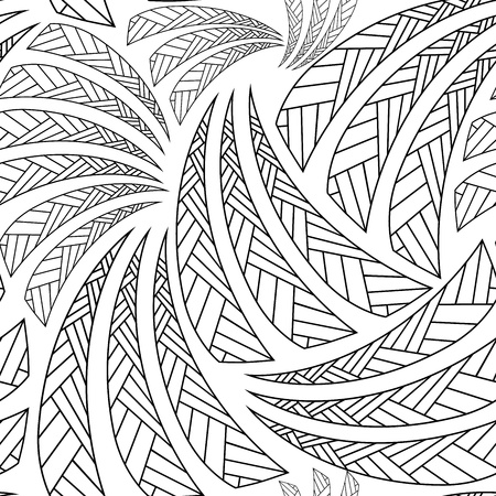 Ethnic seamless pattern, decorative background