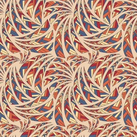 Ethnic seamless pattern, decorative background