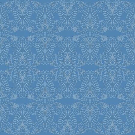 western pattern: Seamless greek Art Nouveau pattern