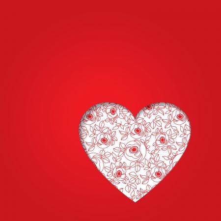 d�a s: coraz�n d�a s rojo