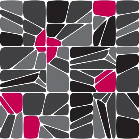 Mix seamless mosaic pattern Stock Vector - 17652380