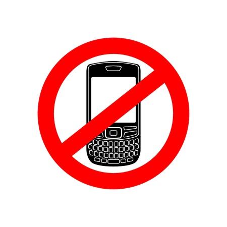 interdiction telephone: Aucun signe vecteur t�l�phone