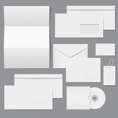 stationery set: Blank Business Corporate Templates