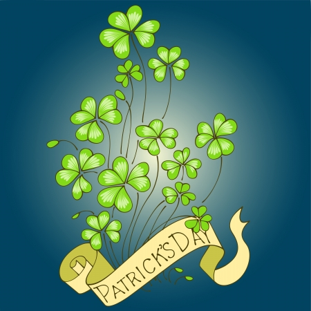 St  Patrick s Day background Stock Vector - 17958760