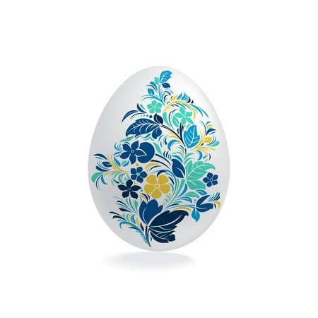 Easter eggs design template Vector