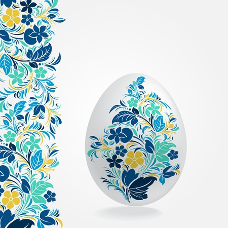 happy easter: Easter eggs design template