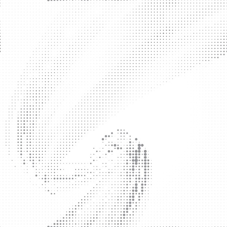 halftones: Dot halftone abstract vector background