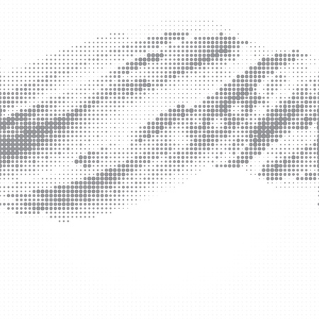 halftone background: Dot halftone abstract vector background