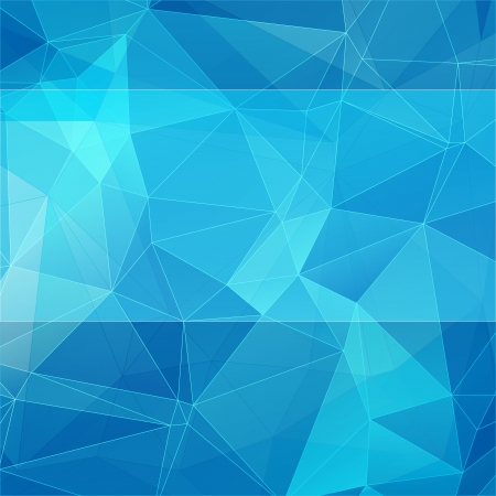 triangular shape: triangular style blue abstract background