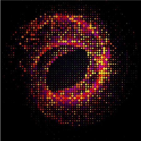 lichteffekte: Abstrakte Halbton Lichteffekte Hintergrund