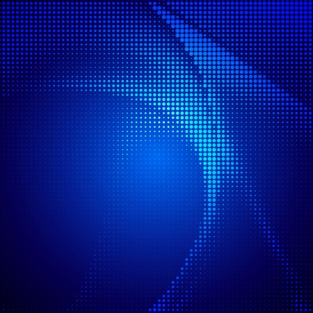lighting effects: Abstract halftone lighting effects background