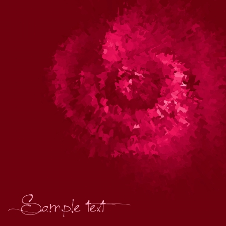 Rose colored ink vector background Vector