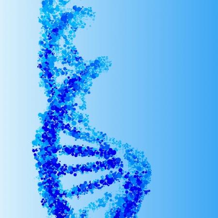 DNA-helix achtergrond