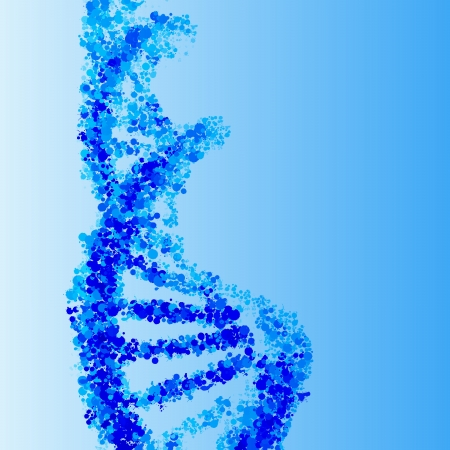 DNA helix background