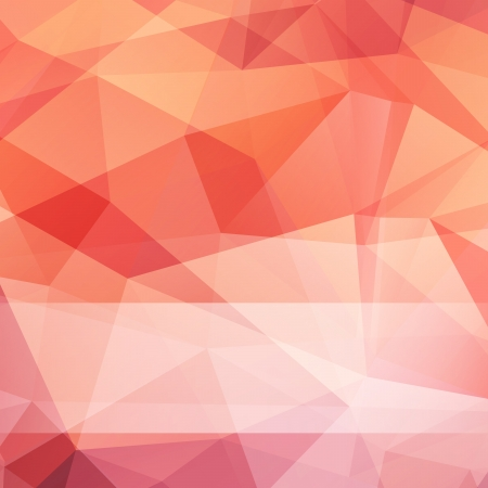 3D  abstract triangle mesh background  Vector