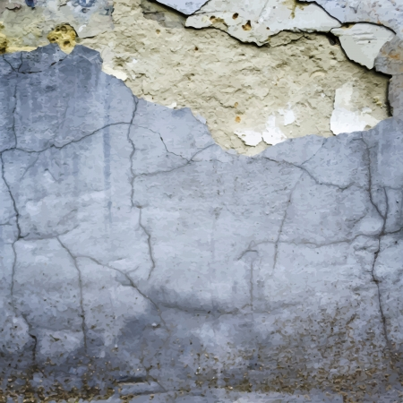 cracked wall: cracked stucco wall texture vector