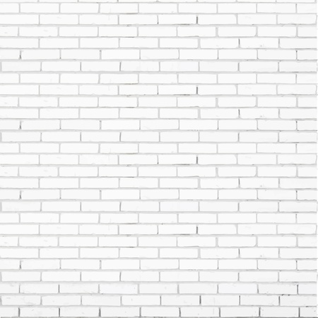 white brick wall vector texture Фото со стока - 21747774