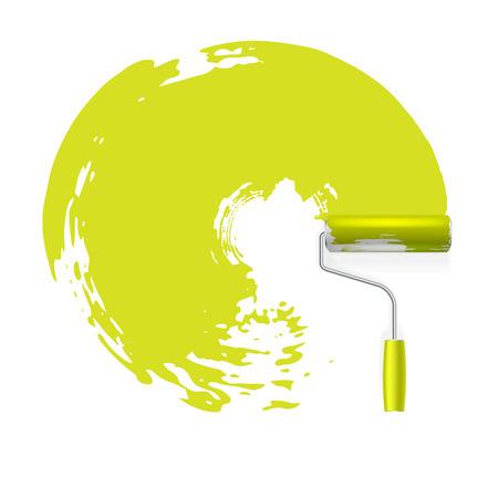 verfroller vector concept achtergrond Stock Illustratie