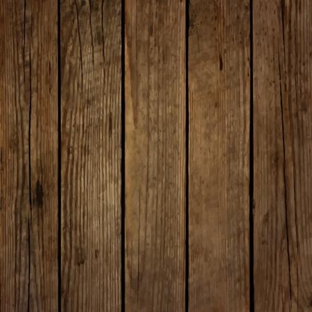 Donkere houten bord vector achtergrond Stock Illustratie