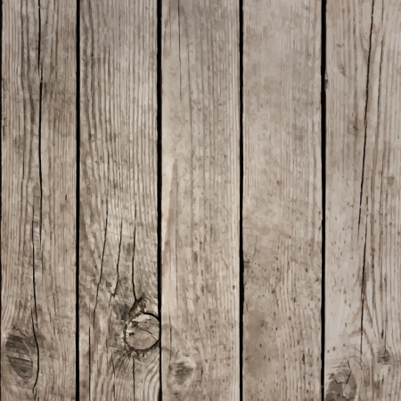 oak wood: Wood Boards Floor Vector Texture Illustration