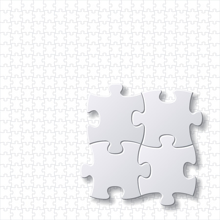 puzzles blank template background vector eps file Vector